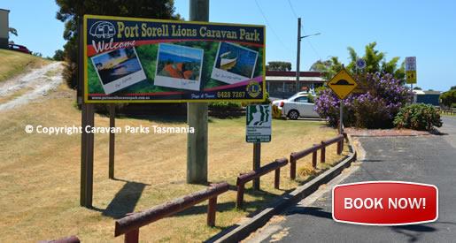 caravan park lions port sorell accommodation devonport. Black Bedroom Furniture Sets. Home Design Ideas
